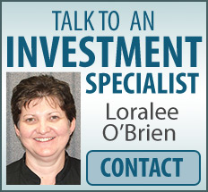 Talk to an investment specialist