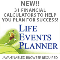 Life Events planner - 31 financial calculators to help your plan succeed